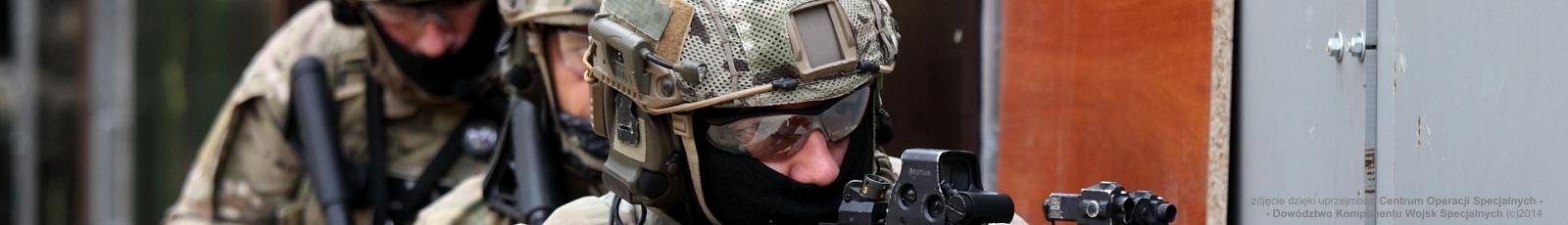 zdjęcie dzięki uprzejmości Centrum Operacji Specjalnych - Dowództwo Komponentu Wojsk Specjalnych (c)2014