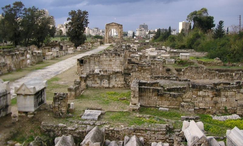 ruiny Tyru, Matze187@wikiimedia.org, CC-BY-SA