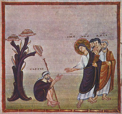 Jezus i Bartymeusz po Jerychem, CC-0