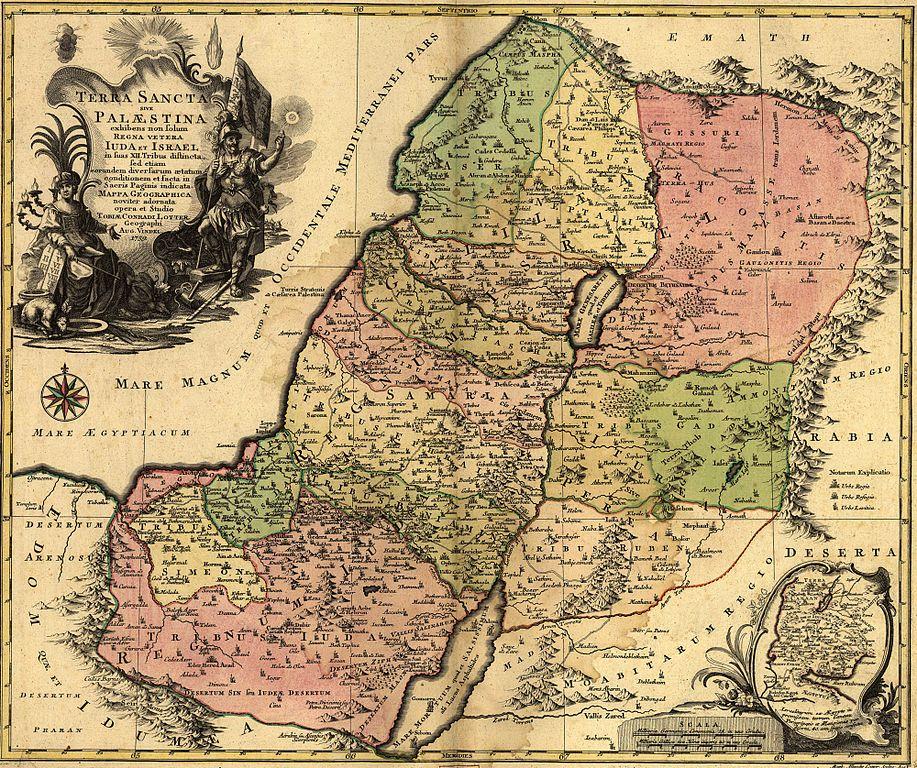 podział ziemi w Kanaanie, CC-0