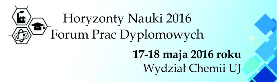 baner konferencji Horyzonty Nauki