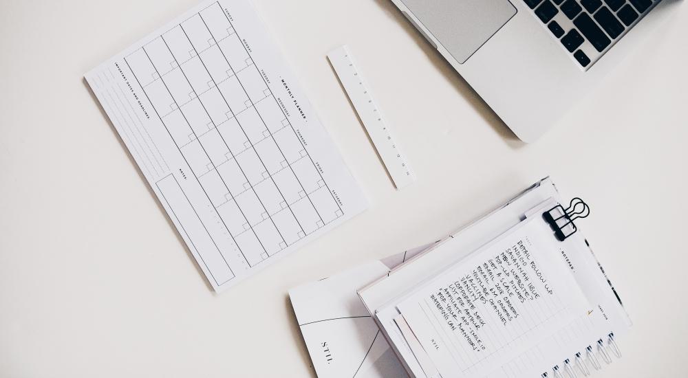 Listy zadań potrzebne do zarządzania sobą w czasie.