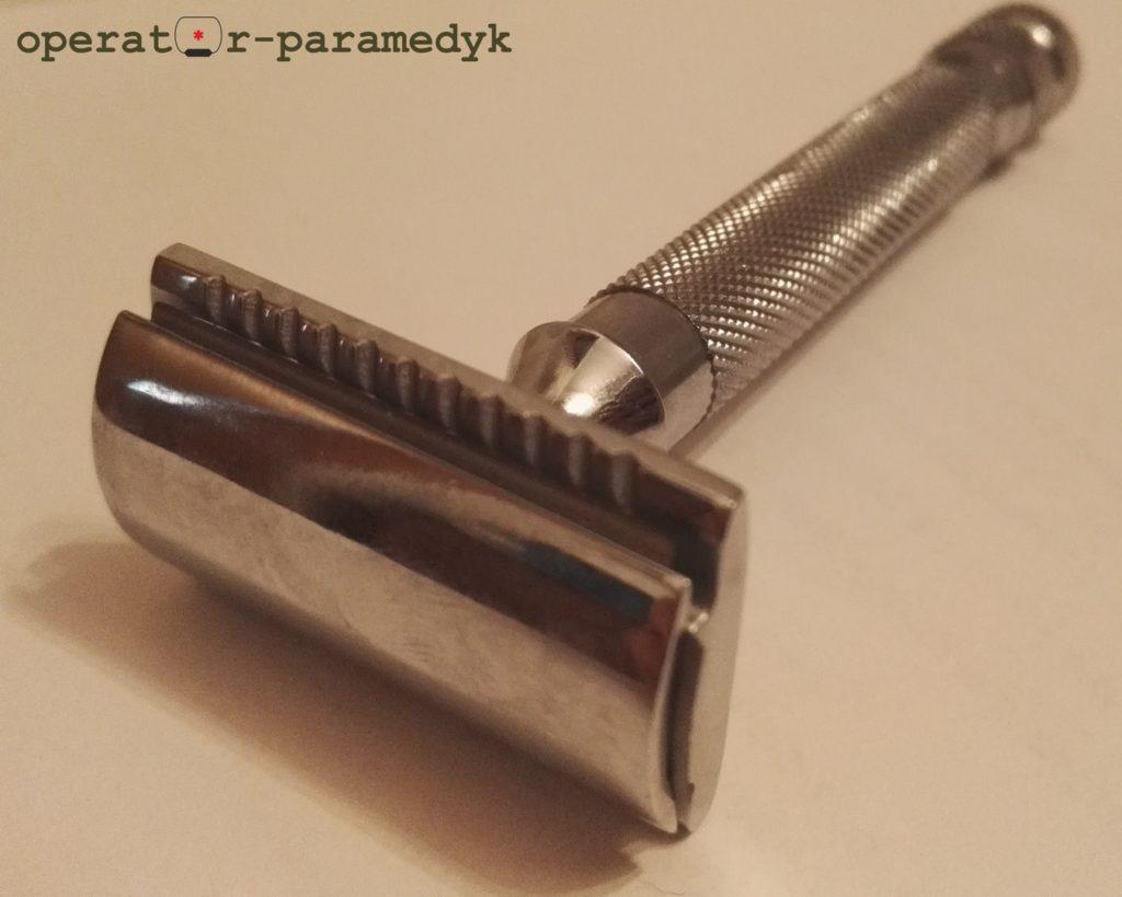 aparat do golenia Parker 91R, CC-BY-NC, operator-paramedyk