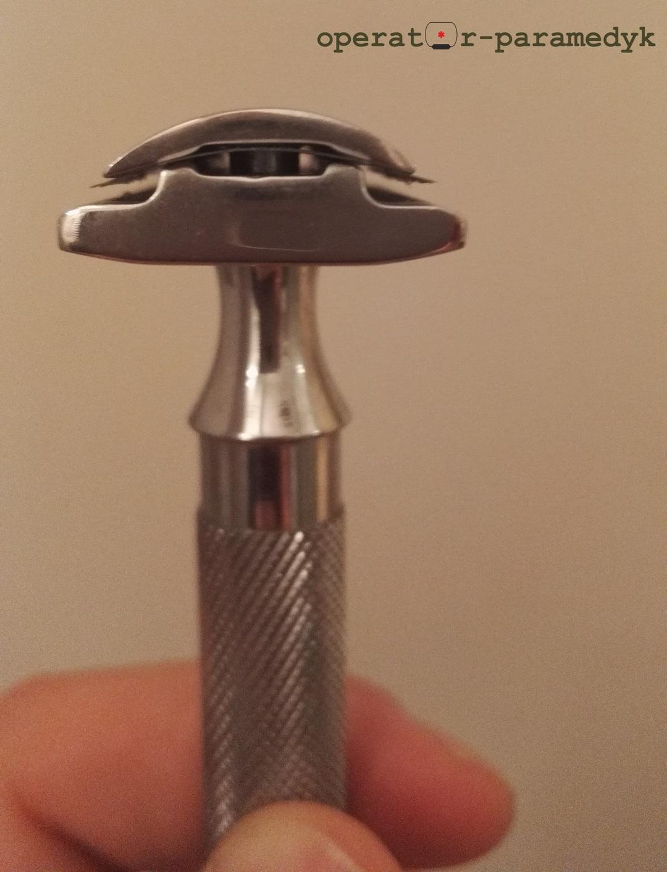 maszynka do golenia na żyletki Parker 91R, CC-BY-NC, operator-paramedyk