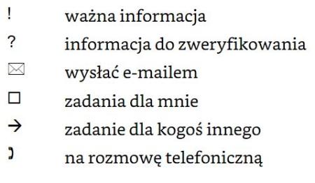przykładowe znaczniki (tagi) do notatek, CC-BY-NC, www.operator-paramedyk.p