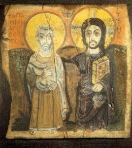 Jezus i św. Menas, CC-0