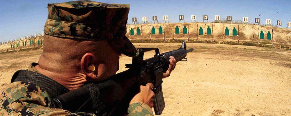 shooting range target, zdjęcie: US Marines Corps CC-0