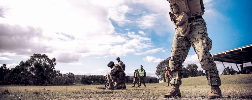 na dwóch nogach, zdjęcie: marines.mil, CC-0