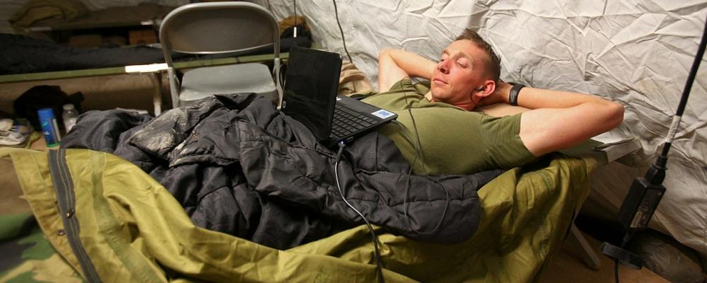 jak odpoczywać? zdjęcie: Bryan Nygaard USMC, CC-0
