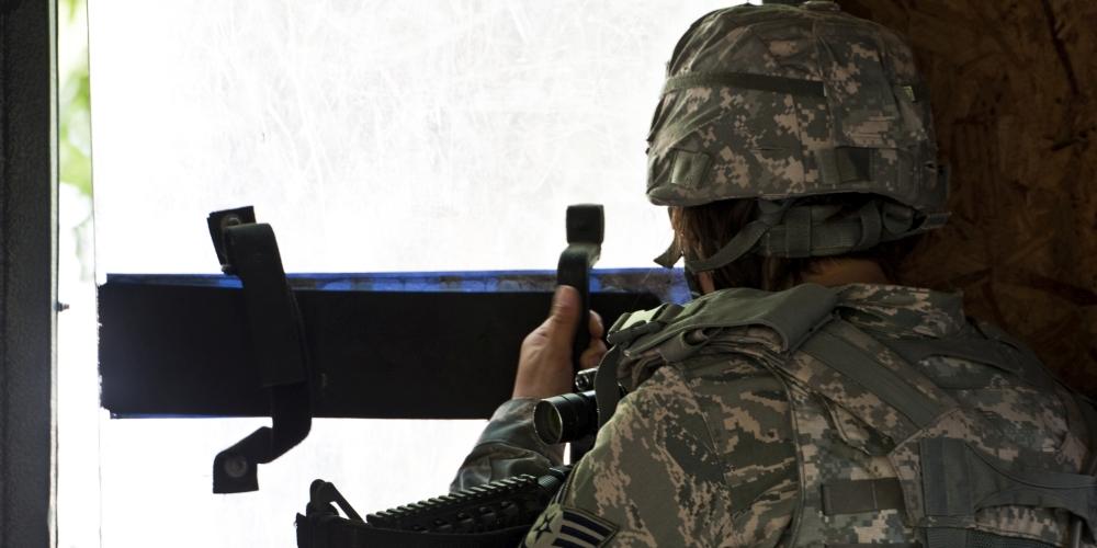 stój, kto idzie!? zdjęcie: defense.gov, CC-0