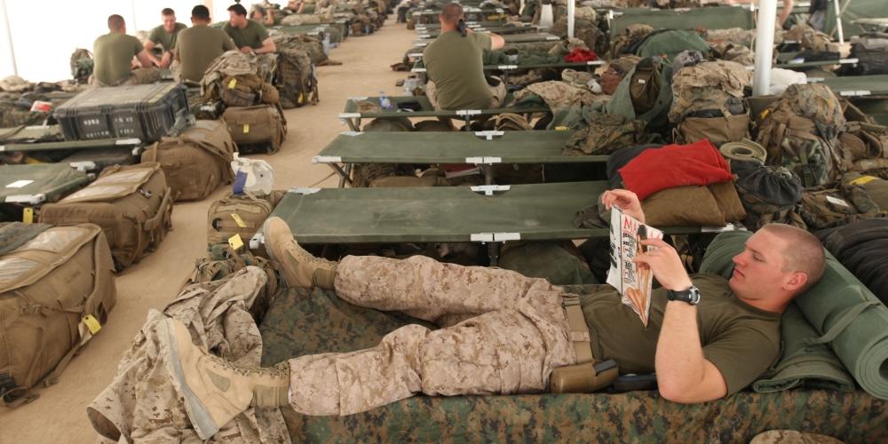 dbaj o siebie, zdjęcie: USMC, CC-0